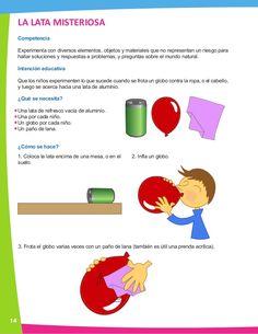 2. Ciencia en Preescolar: Manual de experimentos para el profesor