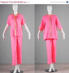 10% OFF Vintage NOS Deastock 60s Hot Pink by StyleandSalvage  $99.00