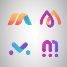 Vector Premium | Logotipo de la letra m Graphic Design Branding, Text Design, Logo Design, Banners, Supermarket Logo, Logo Smart, Mm Logo, Money Logo, Letter M Logo