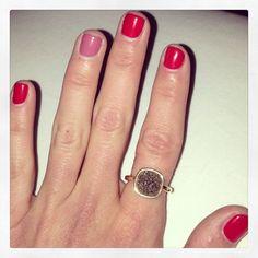 ring (and awesome nail polish too :P)