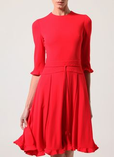 adore this red dress