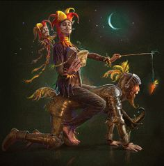 DON QUIXOTE...............BY ANDREW FEREZ...........PARTAGE OF RENÉ PASSERA.............ON FACEBOOK..........