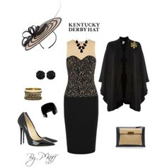 """Kentucky Derby Hat"" by pkoff on Polyvore"