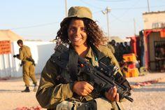 WOMEN OF THE IDF: 10 Best Images of IDF Women