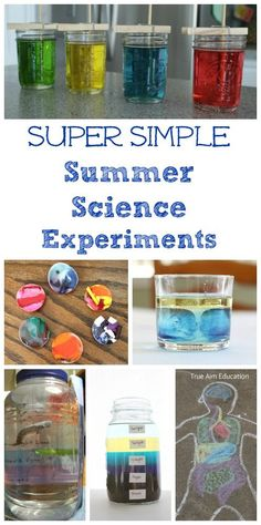 Let the kids get curious this summer with these super simple experiments that explore the ocean, sun, water and more!