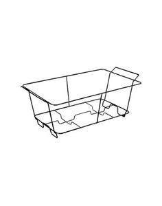 Chafing Dish Rack New Black Aluminum Full Chafing Dish Steam Pan  Wedding Ideas Inspiration