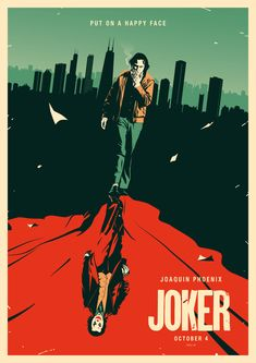 [Artwork] Joker Poster [by Rico Jr] 80s Movie Posters, Movie Poster Art, Poster S, Photos Joker, Joker Images, Joker Poster, Dc Comics Poster, Comic Poster, Image Joker