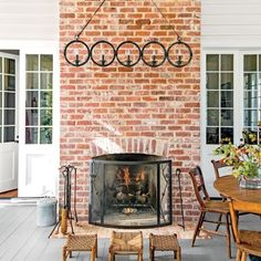 Alabama Farmhouse: The Fireplace
