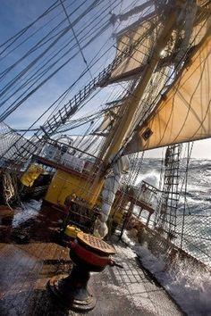 tall ship deck