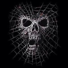 Velocitee Mens Long Sleeve T-Shirt Black Widow Horror Goth Skull Spider Elbow Tattoos, Skull Tattoos, Body Art Tattoos, Sleeve Tattoos, Spider Web Tattoo Elbow, Skull Stencil, Black Widow Spider, Totenkopf Tattoos, Skull Pictures