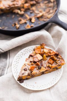 This Whole30 sweet potato apple breakfast bake is naturally sweet and so filling. A perfect Whole30 breakfast bake for all week!