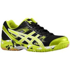 ASICS® Gel-1140V - Women's - Volleyball - Shoes - Black/Lime