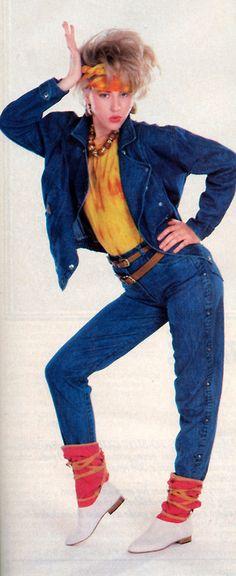 Jou Jou, Glamour magazine, September 1983.