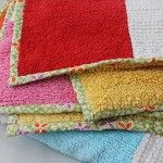VINTAGE chenille PATCHWORK quilt for GIRL or BOY - by Frankys on madeit