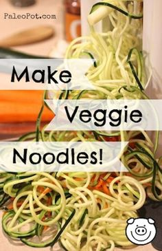 How to make the best veggie noodles.