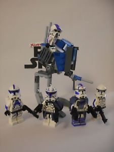 Lego Star Wars minifigures - Clone Custom 501st - Shadow Planet