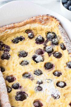 Blueberry Lemon Oven PancakeReally nice recipes. Every hour.Show  Blog: Alles rund um die Themen Genuss & Geschmack  Kochen Backen Braten Vorspeisen Hauptgerichte und Desserts #hashtag