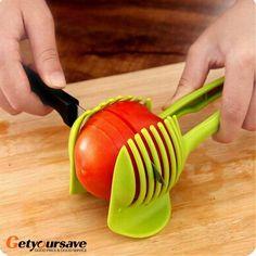 Tomato Cutter & Slicer Utensil