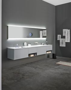 New finishes. Fresh and relaxing environment. #bathroom #design #washbasin
