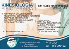 PORTAL TERAPIAS CORDOBA: kinesiologia y fisioterapia,lic,pablo ignacio gere...