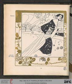 May, Ver Sacrum magazine, Volumn 4, 1901. Art nouveau.