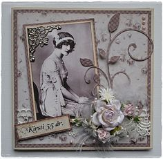 Monochromatic 1920s Style Heritage Page