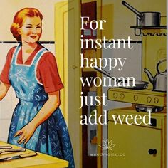 A natural extension of the Wine Mom, the Weed Mom parents—and accessorizes—with the help of THC. 420 Memes, Funny Weed Memes, Funny Fails, India Maria, Stoner Humor, Weed Humor, Marijuana Art, Marijuana Funny, Jokes