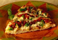 Veggie Pizza -- a perfect Mrs. Dash recipe - mrsdash.com #saltsubstitute #nosalt #pizza