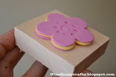Faire ses propres tampons avec des formes en mousse