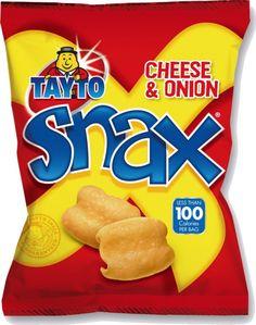 Food Ireland Tayto Snax 17g (0.6oz) X 48