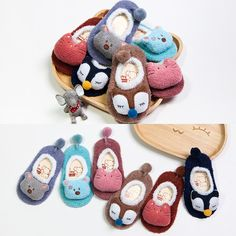 Awesome 0-5Y Pudcoco Winter Newborn Baby Kids Toddler Anti Slip Shoes Cute animal Cartoon Slipper Warm Floor Socks Boots - $6.12 - Buy it Now!