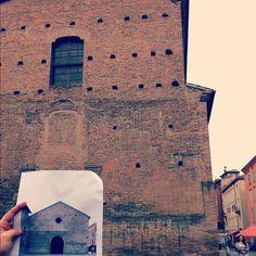 """Piazza della Pomposa """"Prima"""" - Instagram by @babepi"""
