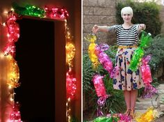 Birthday candy lights or christmas candyland | http://ilovecolorfulcandies.blogspot.com