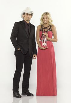Brad Paisley & Carrie Underwood » CMA 2012 Promotional Picture