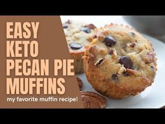Keto Pecan Pie Muffins - All Day I Dream About Food