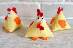 Petits poulets déco
