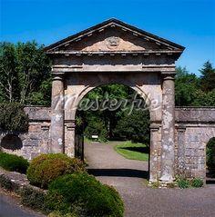 Bishop's Gate, Downhill, Co Derry Ireland - Stock Photos