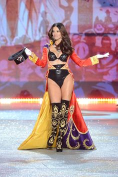 The Victoria's Secret Fashion Show 2012 - Adriana Lima.. She was amazing. The whole show should have been about her... just saying. <3