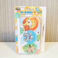 Pokemon Hard cover for Nintendo 3DS LL XL Chespin Fennekin Froakie XY case Japan