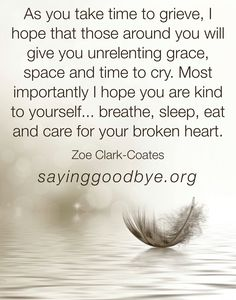 #loss #grief #time #