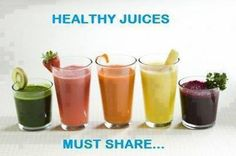 Healthy Juices!!!!   Carrot + Ginger + Apple - Boost and cleanse our system.  Apple + Cucumber + Celery - Prevent cancer, reduce cholesterol, and eliminate stomach upset and headache.  Tomato + Carrot + Apple - Improve skin complexion and eliminate bad breath. For more healthy combinations come over to https://www.facebook.com/pages/Robyns-Weight-Loss-Tips-Healthy-Living/1415717838666673