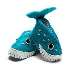 Whale baby booties $25 Handmade in Kyrgyzstan #fairtrade