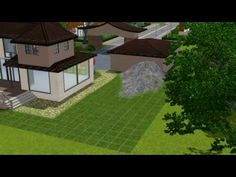 The sims 3 house building - daydream 55 - part 2 - Landscaping - http://news.gardencentreshopping.co.uk/garden-furniture/the-sims-3-house-building-daydream-55-part-2-landscaping/