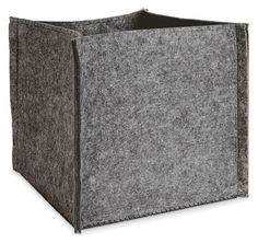 Room & Board's Felt Storage Bin = $79 West Elm's Felt Storage Bin = $13 (special pricing) R E L A T E D