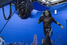 Ten Minutes with Zoe Saldana Ten minutes may not seem like much, however when you're on an active set it's a lifetime. We were waiting for Zoe Saldana to finish filming a scene from the upcoming movie Guardians of the Galaxy Volume 2. She was one of the last people we talked with on set,...Read More »