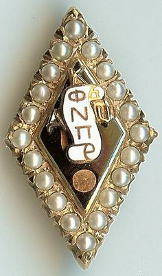 Old Kappa Alpha Psi fraternity pin with seed by TheFraternityGuru, $289.00