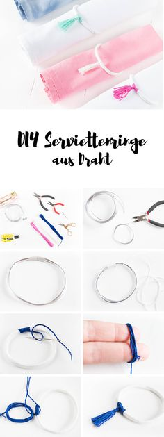 DIY Serviettenringe