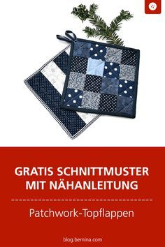 Nähanleitung: Topflappen im Patchwork-Stil Free sewing pattern with sewing instructions for pretty p Free Sewing, Knitting Patterns Free, Baby Knitting, Free Pattern, Patchwork Quilting, Quilts, Diy Accessoires, Sewing Table, Knitting For Beginners