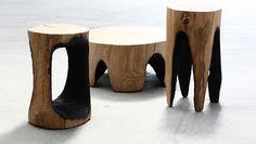 Resultado de imagem para design madeira queimada