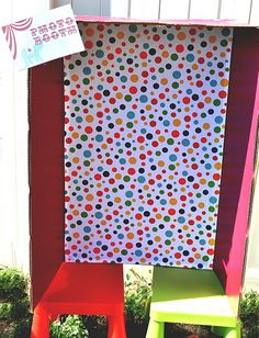 photo booth- Perfect birthday party idea